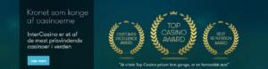 intercasino har vundet mange priser
