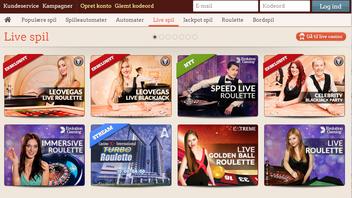 spil live casino hos intercasino