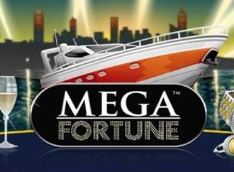 Få fingrene i den helt store jackpot med den progressive spilleautomat Mega Fortune