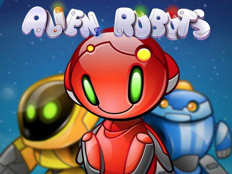 Spil på Alien Robots spilleautomaten