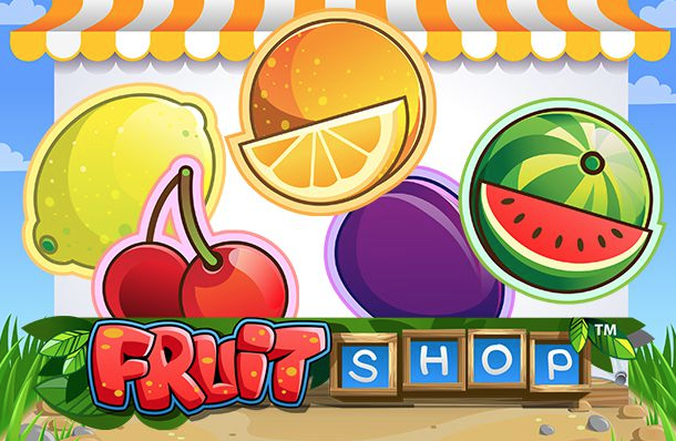 Logo for spilleautomaten Fruit Shop