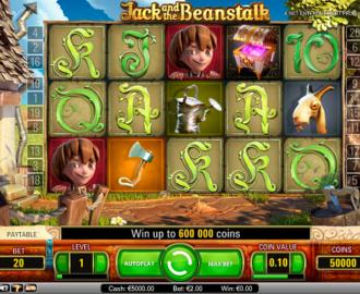 vind stort med klassikeren Jack and the Beanstalk