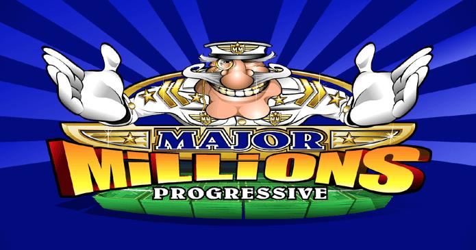 Vind mange millioner med Major Million Progressive spilleautomat