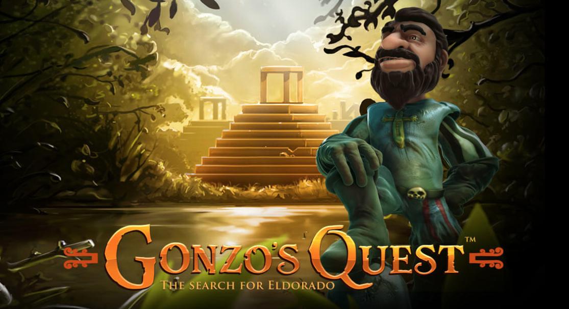 Find Eldorado med Gonzo's Quest spilleautomaten