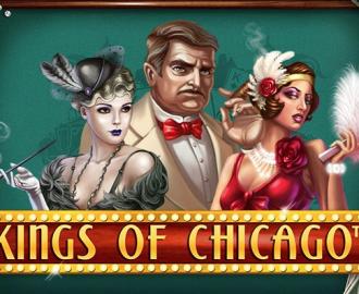 Drøm dig til Chicago med Kings of Chicago spilleautomaten og få chancen for at vinde gode gevinster