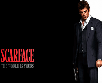 Spil med Scarface spilleautomaten
