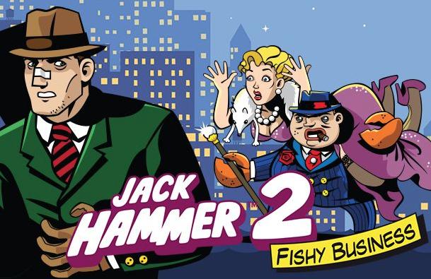 Logo for spilleautomaten Jack Hammer 2