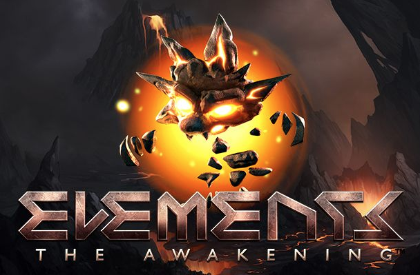 Logo for spilleautomaten Elements: The Awakening