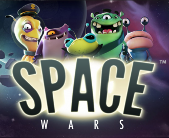 Spil med de mange aliens i Space Wars spilleautomaten