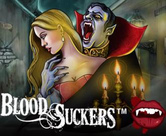 Spil med de blodtørstige vampyrer i Blood Suckers spilleautomaten