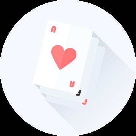 Casino spillekort