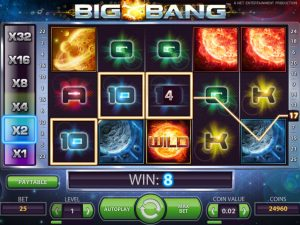 Big Bang Gameplay eksempel