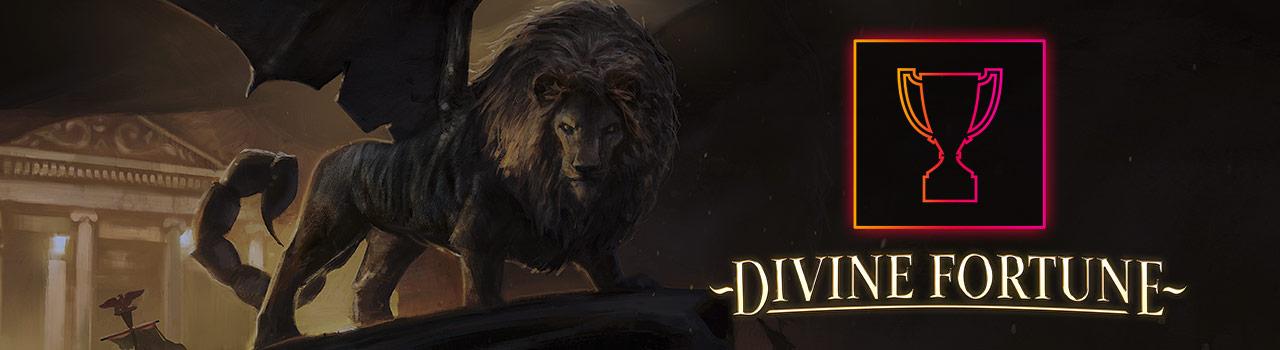 Store gevinster vundet på Divine Fortune spilleautomaten