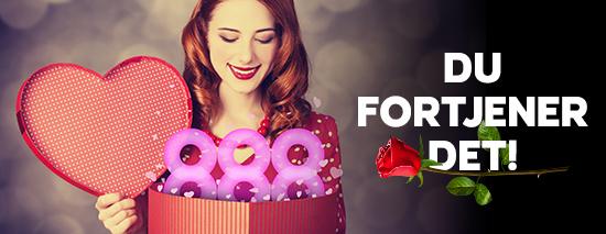 Få masser af 888 Valentinsdag casinobonusser i februar