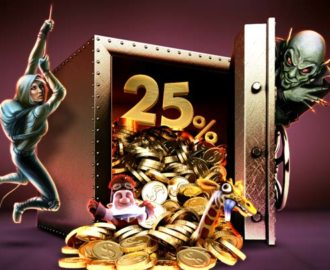 Få 25% bet365 Vegas reload bonus i denne weekend