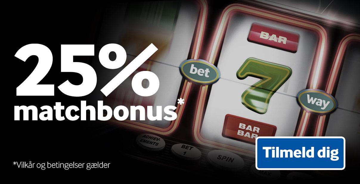Så er Betway Casino igen klar med matchbonus til loyale kunder