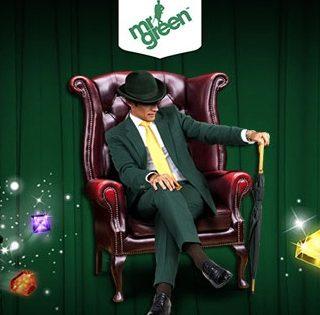 Mr Green Casino og spilleautomater som Starburst