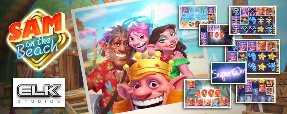 Tivoli Casino præsenterer den nye Sam on the Beach spilleautomat