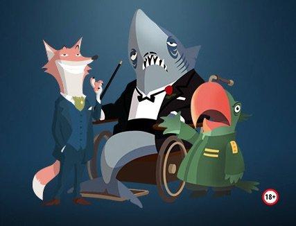 Casino and Friends tre af vennerne