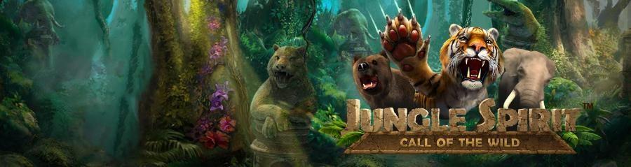 Jungle Spirit spilleautomaten er løs på Unibet Casino