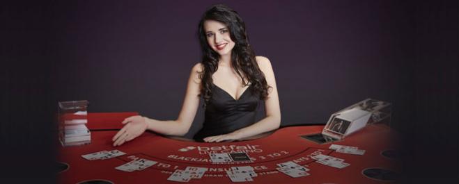 Live dealer-casinoer – spill live dealer-spill på nett