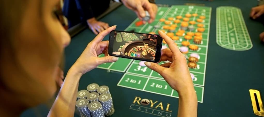 Royal Casino live roulette bord