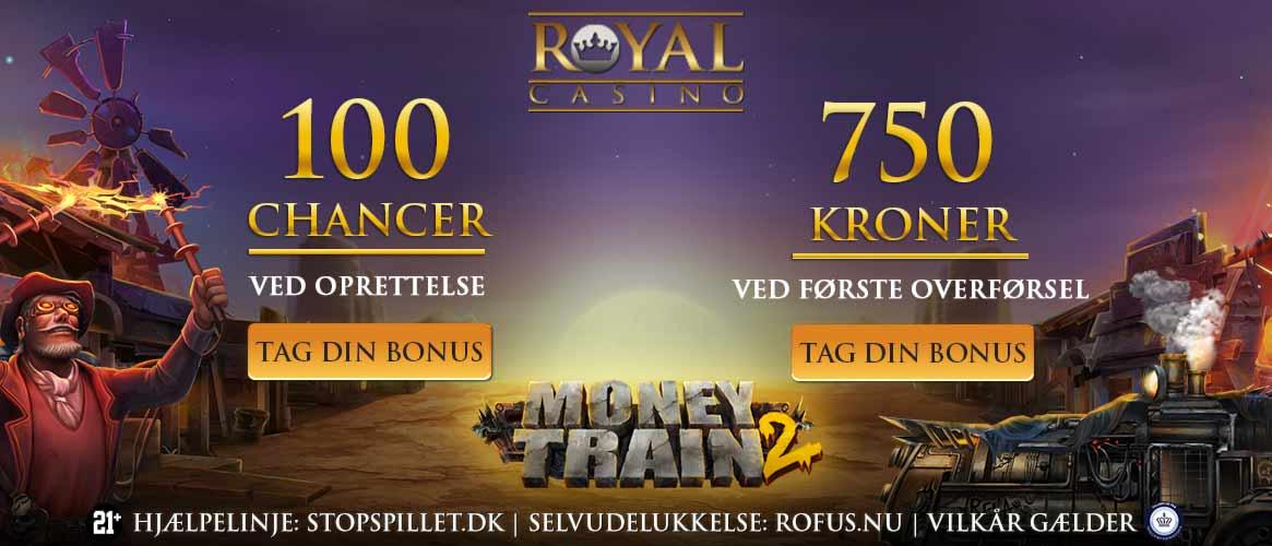 Royal Casino Velkomstbonus