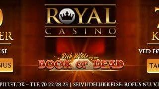 Royal Casino Velkomstbonus Banner