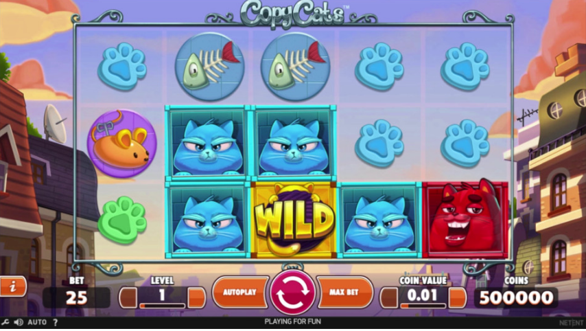 NetEnt lancerer nyt spil: Copy Cats