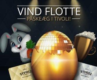 Vind flotte påskeæg i Tivoli Casinos påsketurnering
