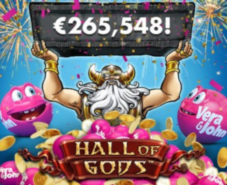 Kvinde vinder den store Jackpot hos Vera & John Casino!