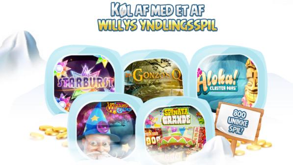 spil de bedste spil hos willy casino
