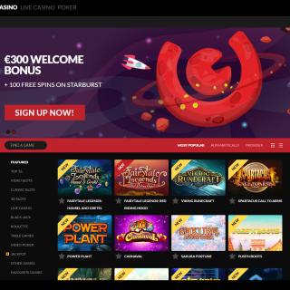 Guts Casino anmeldelse - spil hundredvis af spilleautomater online