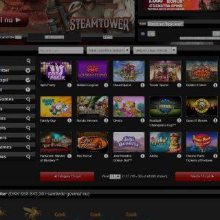 Next Casino casinospil