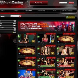 Next casino live casino