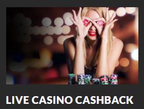 faa cashback paa live casino hos guts casino