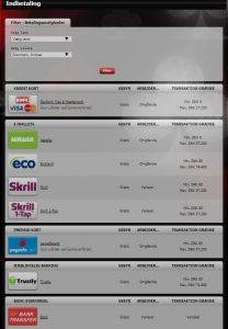 indbetalingsmuligheder hos nextcasino