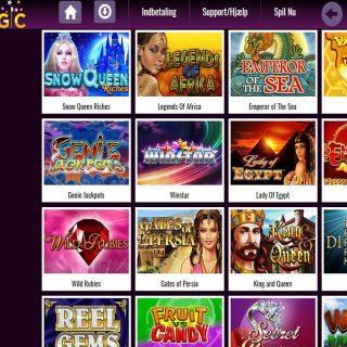 Slotsmagic casino lobby