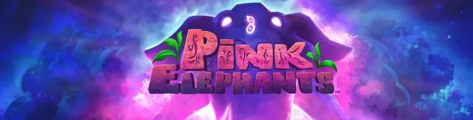 Pink Elephants spilleautomat banner