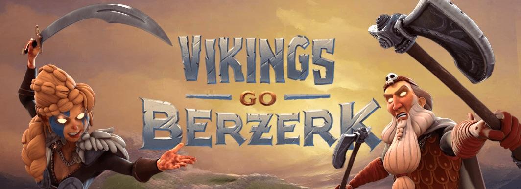Vikings Go Berzerk spilleautomat banner