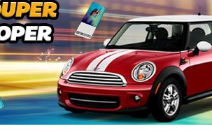 Vind en Super Duper Mini Cooper på SlotsMagic Casino