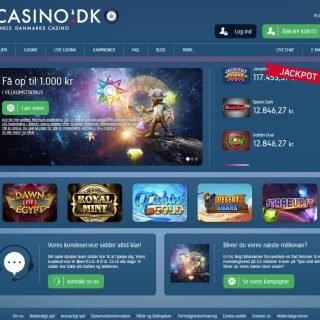 Casino.dk forside