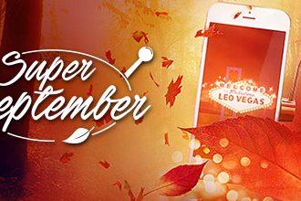 LeoVegas gør september til en super måned