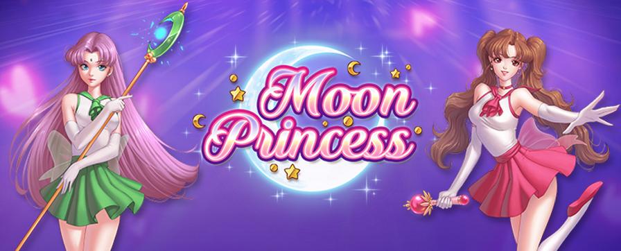 Spil med prinsesserne på Moon Princess spilleautomaten nu