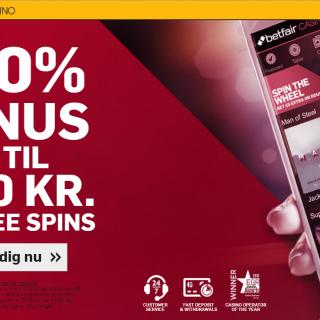 Bonus på betfair casino