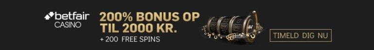 betfair casino sort banner med ny velkomstbonus