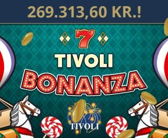 Tivoli Bonanza jackpotten udløst lige før juleaften