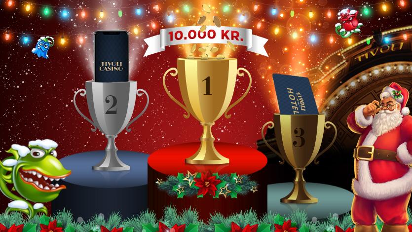 Spil med i Tivoli Casinos juleturnering