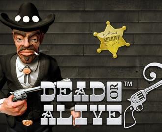 Spil med cowboyen på spilleautomaten Dead or Alive