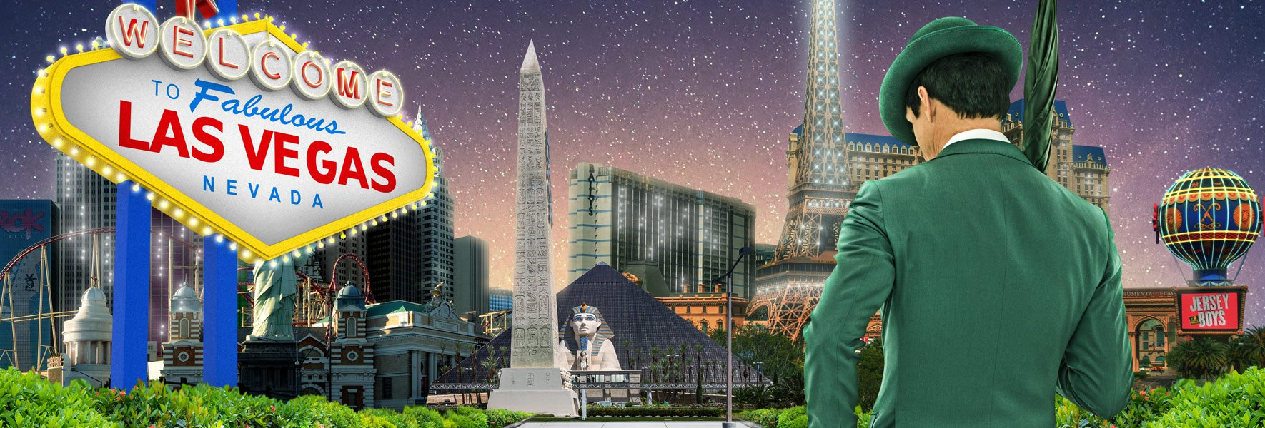Vind en rejse for to til Las Vegas med Mr Green Casino